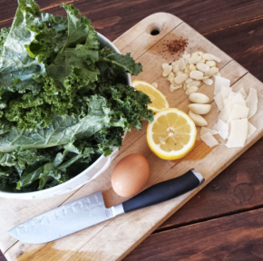 [recipe] kale salad